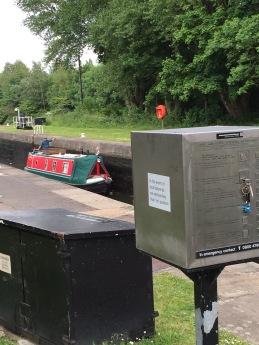 Lock control box River Aire