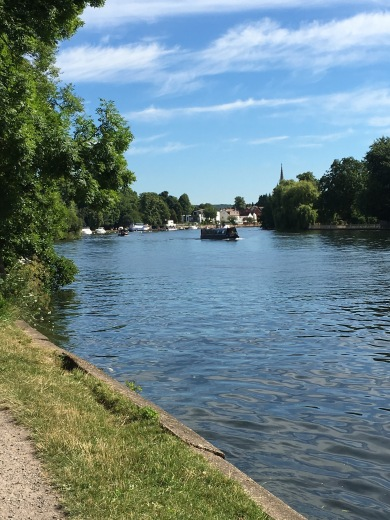 Lovely Thames at Marlow