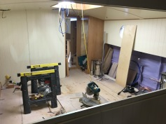 Kitchen units will be on the right