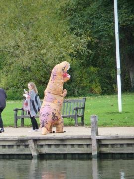Leaving Marlow this appeared, should give the toddlers nightmares.