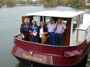 Christmas Day afloat