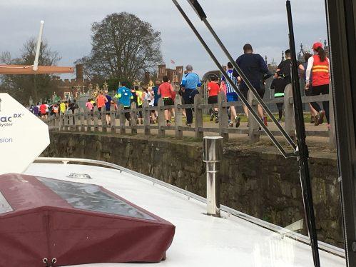 Runners at Hampton Court