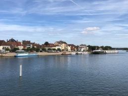 Riverside moorings